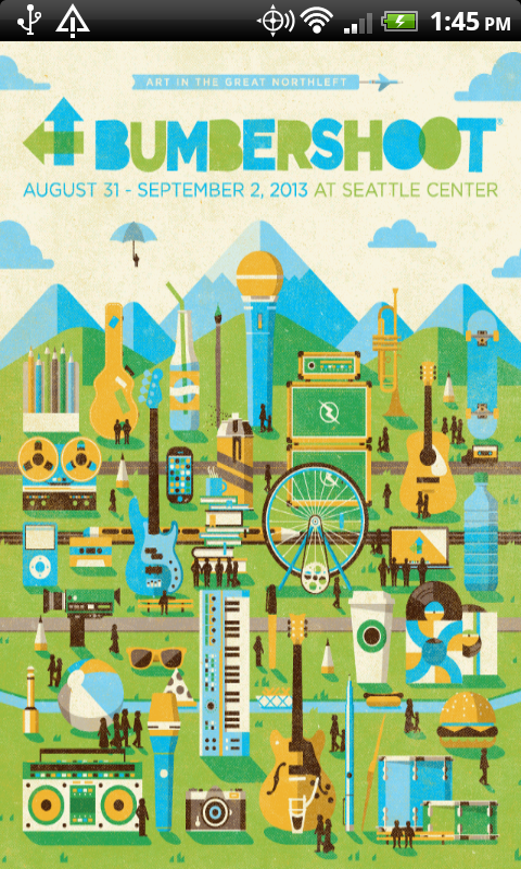 Bumbershoot 2013 - screenshot