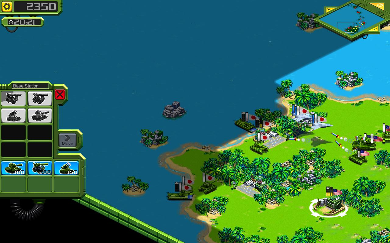 Tropical Stormfront - RTS - screenshot