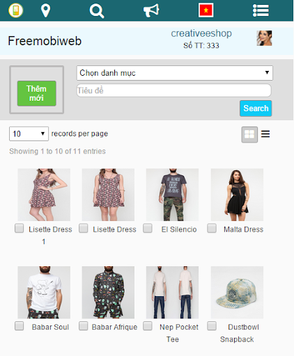 FreeMobiWeb