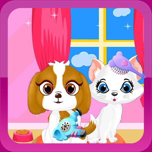 宠物发廊女孩子的游戏 休閒 App LOGO-硬是要APP