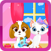 Pet Hair Salon Girl Games
