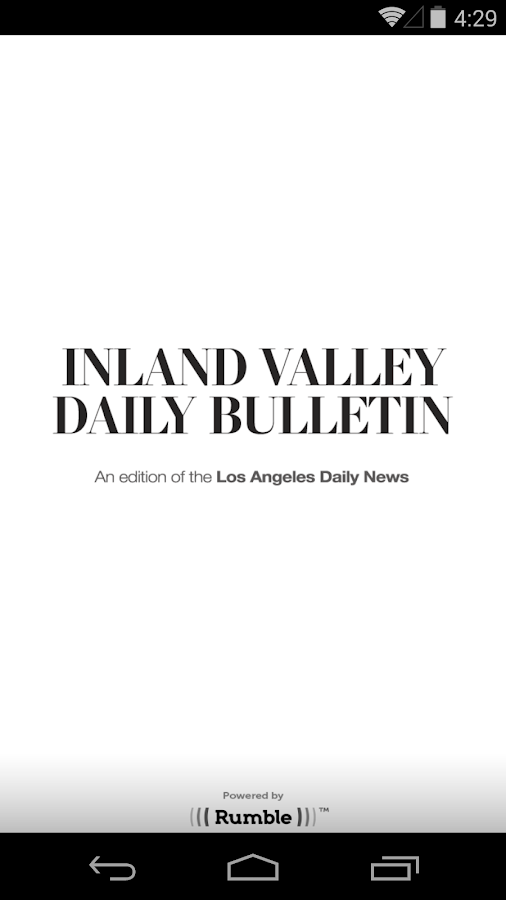 Inland Valley Daily Bulletin- screenshot