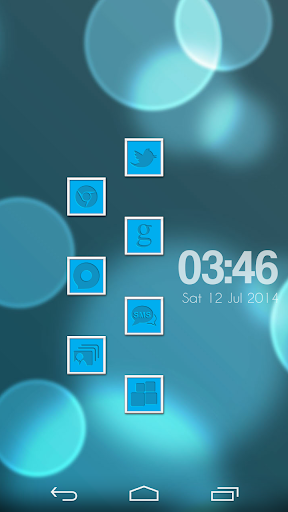 VM10 Blue Icon Set