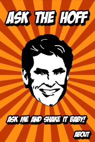 Ask The Hoff - screenshot
