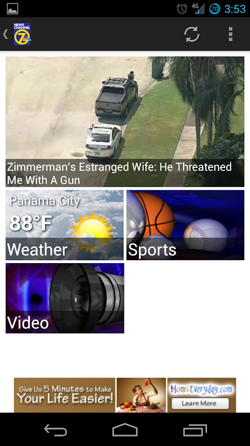 WJHG News - screenshot
