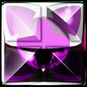 Next Launcher Theme pink snake icon