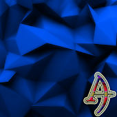 Polygons Blue Xperien Theme