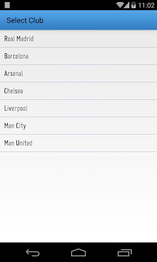 サッカーカレンダー