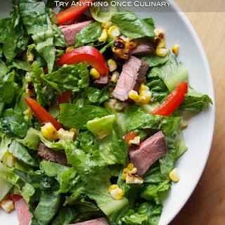 Grilled Steak Southwest Salad.