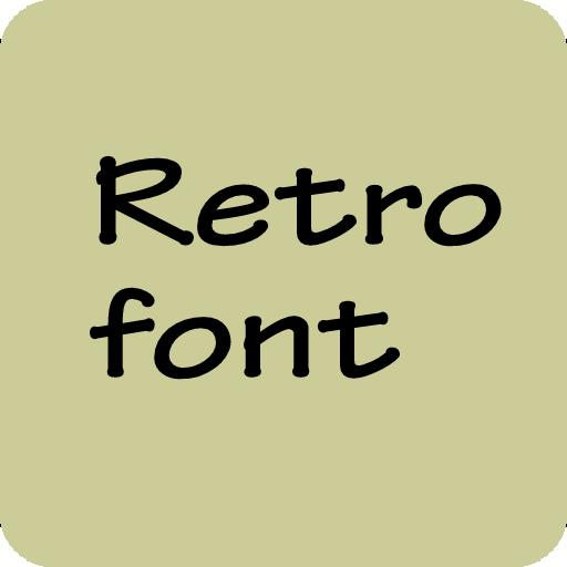Retro Font for Samsung Galaxy LOGO-APP點子