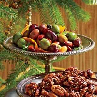 Marinated Olives and Almonds