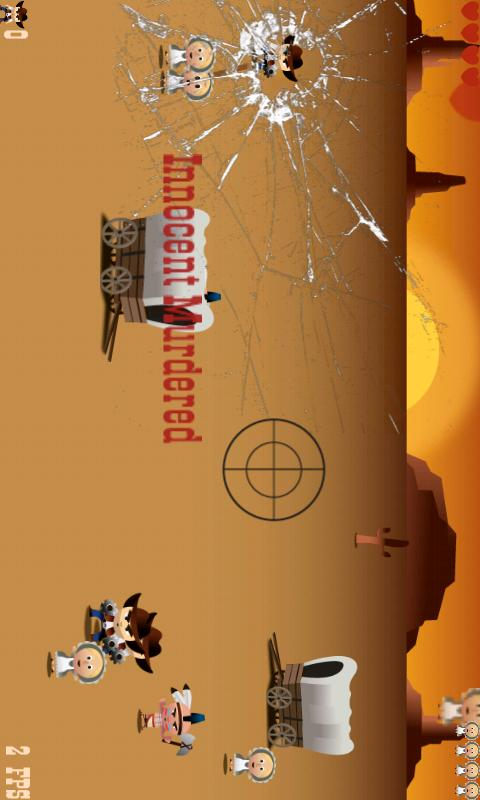 Wild West Sheriff Ads - screenshot