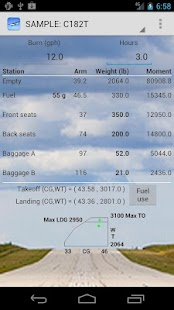 Aircraft Weight & Balance - screenshot thumbnail