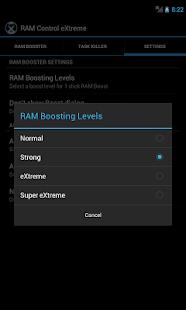RAM Control eXtreme Pro - screenshot thumbnail