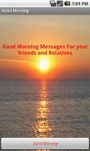 Good Morning Messages - screenshot thumbnail