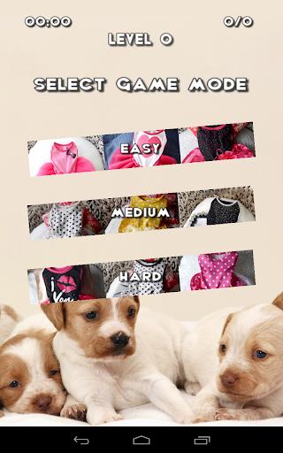 狗衣服拼圖