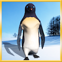Funny Penguin Live Wallpaper icon