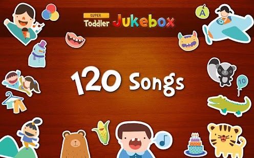 Toddler Jukebox: 120 songs
