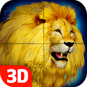 Lion Hunt 3D icon