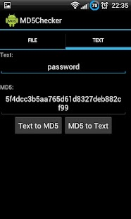 MD5 Checker - screenshot thumbnail