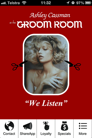 Ashley Cassman at the Groom Rm