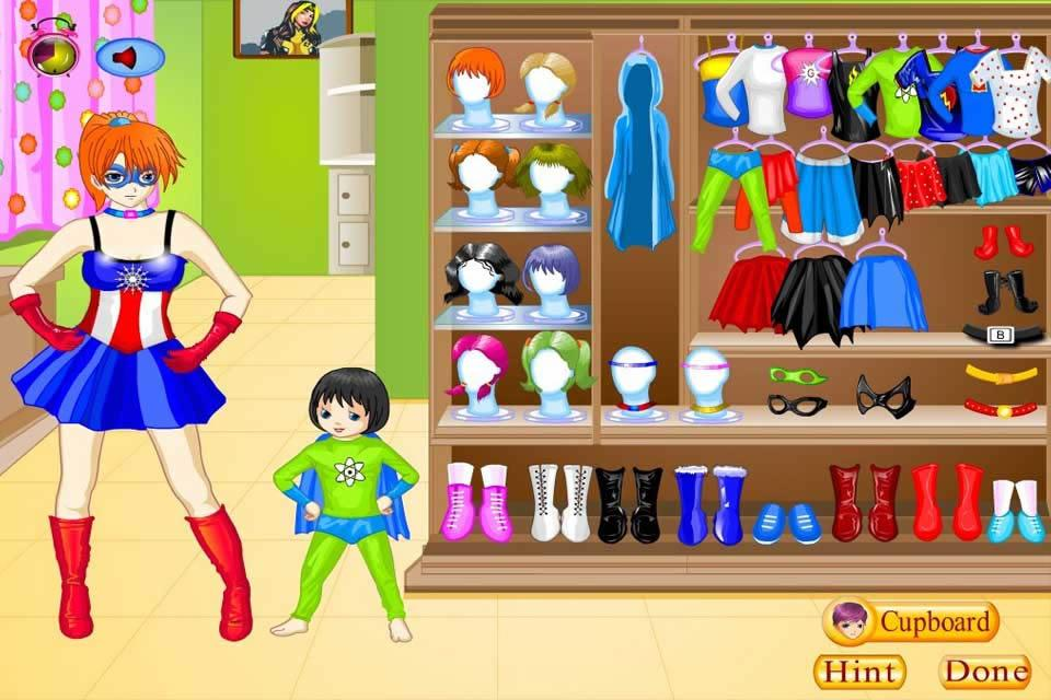 Super Mom Dress Up - screenshot