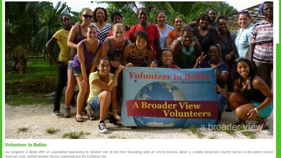 A Broader View Volunteers - screenshot thumbnail