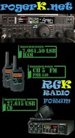 Screenshot of RogerKApp, amateur radio & CB