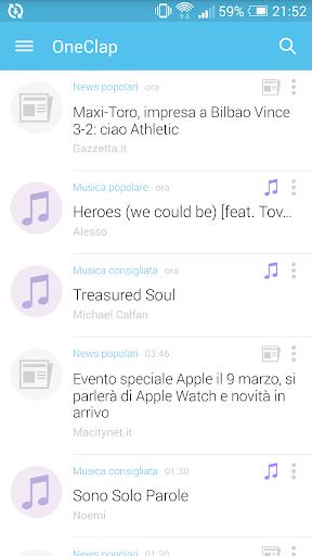OneClap – Notizie e Musica