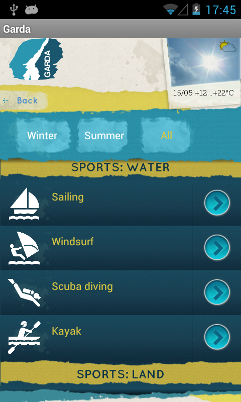 Garda App - Garda Lake- screenshot