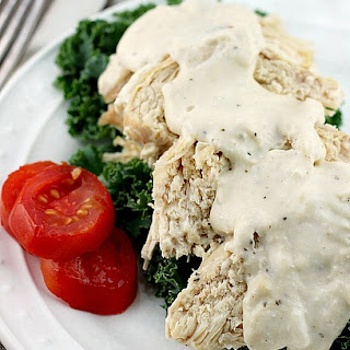 Crock Pot Ranch Cream Cheese Chicken.