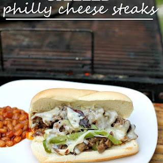 Grilled Philly Cheese Steak Sandwiches {& Gourmet Grillware Giveaway!}.