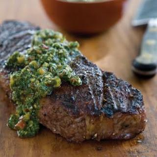 Churrasco-Style Steak with Chimichurri