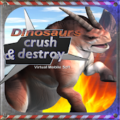 Dinosaurs Crush and Destroy