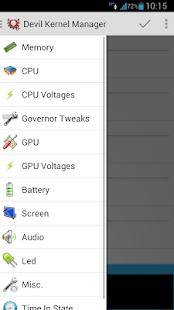 Devil Kernel Manager- screenshot thumbnail
