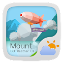 Mount GO Weather Widget Theme icon