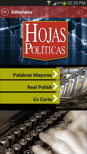 Hojas Políticas