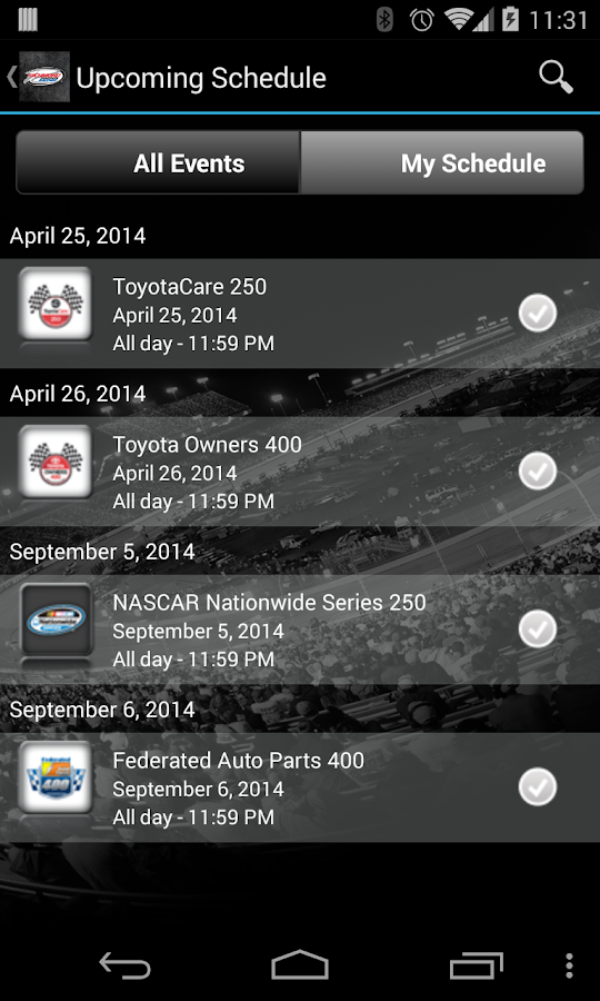 Richmond International Raceway - screenshot