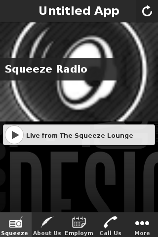 The Squeeze Lounge app