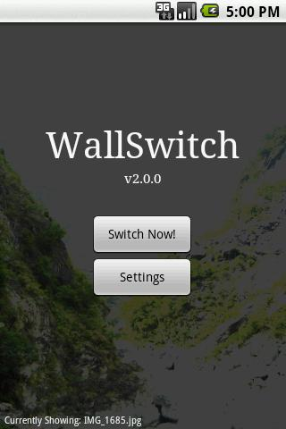 WallSwitch - screenshot