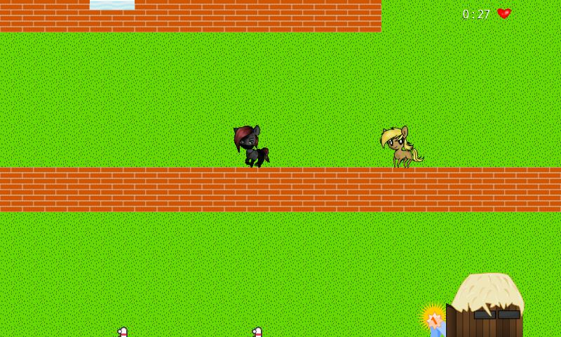 Pete the Pony goes home - screenshot