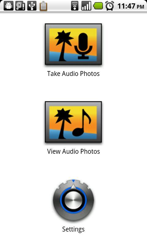 Audio Photos- screenshot