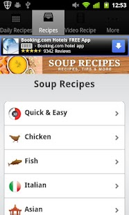 Soup Recipes! - screenshot thumbnail