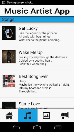 【免費音樂App】Music Artist Demo App-APP點子