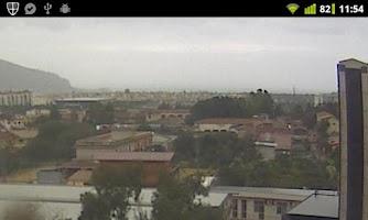 Screenshot of Palermo WebCam
