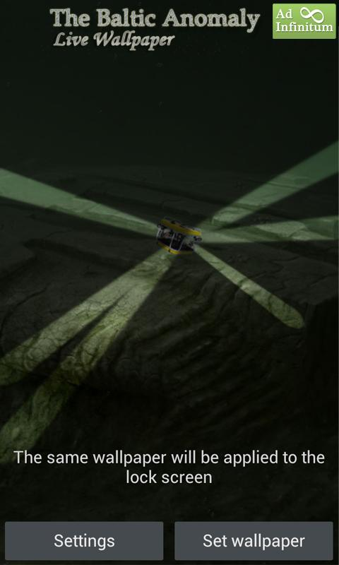 Baltic Anomaly Live Wallpaper- screenshot