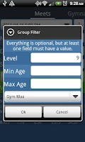 Screenshot of Gym Pal