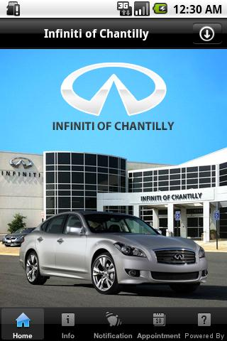 Infiniti of Chantilly - screenshot