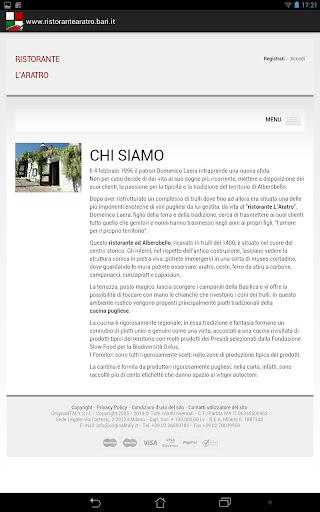 【免費生活App】Ristorante L'Aratro-APP點子