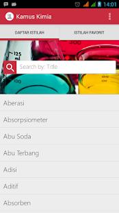 Kamus Kimia screenshot
